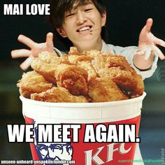 Onew and his chicken