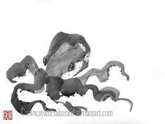 Resultado de imagen de sumi e lobster