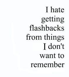 flashbacks...