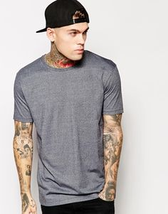 ASOS T-Shirt With Twisted Yarn And Relaxed Fit