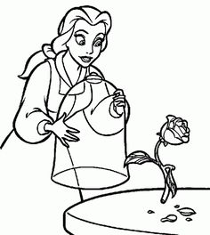Disney Princess Print Out Coloring Pages