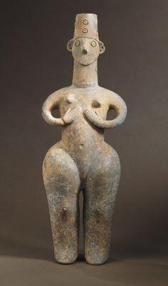 Female Figure. Northern Iran, Iron Age circa 1350-800 B.C. M.76.174.182. Gift of Nasli M. Heeramaneck. LACMA.