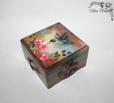 Exclusive tea box, tea, tea bag, box, wood