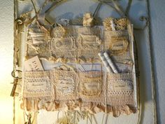 Vintage Lace Pocket Board...By: Parisgal56