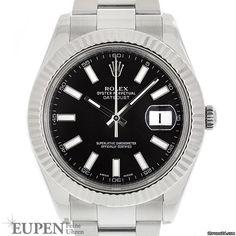Rolex Datejust II Angebot: 6.550€ Rolex Oyster Perpetual Datejust II Ref. 116334, Referenz 116334; Gold/Stahl; Automatik; Zustand 1 (sehr gut); Jahr 2015; Mit Box; Mit Papieren;