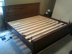 Free Woodworking Plans to Build a King Sized RBR Hudson Bed