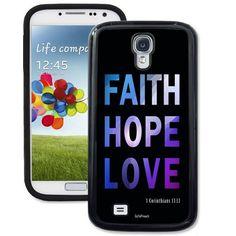 Faith Hope Love Galaxy S4 Case - Galaxy S4 TrueCase - Galaxy Cases