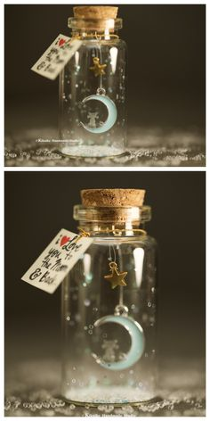 24 ideas for diy gifts for bff birthday mugs Bottle Jewelry, Bottle Charms, Bottle Necklace, Glass Bottle Crafts, Bottle Art, Jar Crafts, Cute Crafts, Craft Gifts, Diy Gifts
