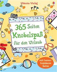 365 Seiten Knobelspaß für den Urlaub