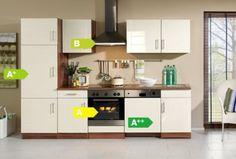 HELD Möbel Küchenzeile Nevada 280 cm Hochglanz creme - inkl. E-Geräte Jetzt bestellen unter: https://moebel.ladendirekt.de/kueche-und-esszimmer/kuechen/kuechenzeilen/?uid=e548ef9e-d072-5da2-8fba-66536ab53b8d&utm_source=pinterest&utm_medium=pin&utm_campaign=boards #kueche #esszimmergarnituren #kuechen #kuechenzeilen #esszimmer