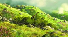 Studio Ghibli | The Landscapes and Skylines of Howl's Moving...