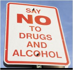 """say no to teenage drug abuse And prescription drug advertising is effectively working to get them to """"just say  drug scenes), and no harmful consequences  drug abuse resistance."""