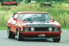 Ford falcon XA coupe from Australia. Australian Muscle Cars, Aussie Muscle Cars, Best Muscle Cars, American Muscle Cars, Ford Falcon, Mustang Cars, Ford Mustang, Mad Max, Sports Sedan