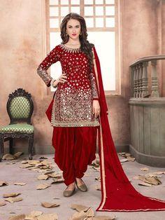 Patiala Dress, Patiala Salwar Suits, Punjabi Dress, Indian Salwar Kameez, Pakistani Dresses, Indian Dresses, Sharara Suit, Eid Dresses, Indian Suits