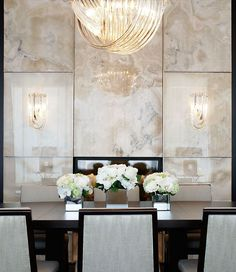 Dinning room Home Interior, Luxury Interior, Interior Decorating, Luxury Furniture, Bedroom Furniture, Dining Room Walls, Dining Room Design, Interior Inspiration, Room Inspiration