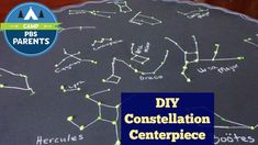 Create a fun way to learn the constellations as they can gaze at the centerpiece while they are eating breakfast, lunch, and dinner!