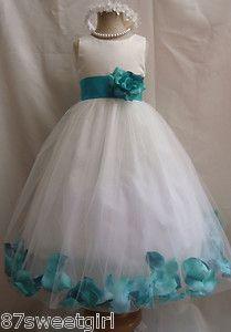 Flower girl dress for B? $25 on eBay