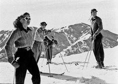 Hit the Slopes: Vintage Ski Inspiration for Winter - Vintage Ski, Vintage Winter, Mode Vintage, Vintage Style, Vintage Fashion, Vintage Holiday, Vintage Travel, Vintage Posters, Vintage Black