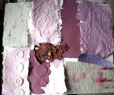 Decorative Paper Mixed Media Collage Art by ThresholdPaperArt, $9.00