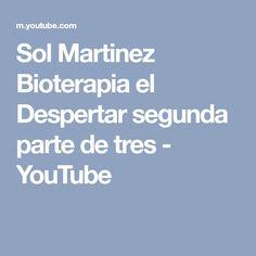 Sol Martinez Bioterapia el Despertar segunda parte de tres - YouTube