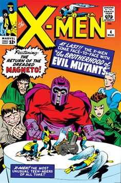 First appearance of Quicksilver and the Scarlet Witch (along with the Brotherhood of Evil Mutants).  X-Men #4.