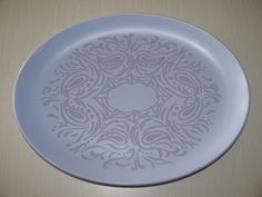 Crown Lynn Dorothy Thorpe 'Brocade' Platter for sale on Trade Me, New Zealand's auction and classifieds website Auckland, Platter, Decorative Plates, Crown, China, History, Tableware, Ideas, Corona