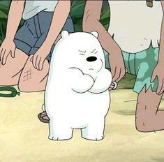 We bare bears Ice Bear We Bare Bears, We Bear, Bear Cartoon, Cartoon Icons, Cute Disney Wallpaper, Cute Cartoon Wallpapers, We Bare Bears Wallpapers, Cute Love Memes, Cartoon Profile Pictures