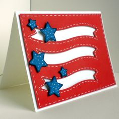 Stars and Stripes by 4beccaw - Cards and Paper Crafts at Splitcoaststampers