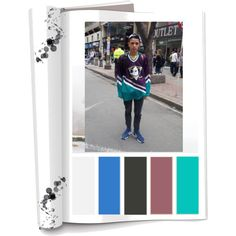 Paleta de color: Colores Fríos con una mezcla de colores cálidos (Negro, gris,verde aguamarina, morado, azul y blanco)  Ropa: Pantalón,saco,gorra y tenis. Accesorios:Maleta. Es una persona descomplicada,relajada. Influenciado por culturas musicales Norte Americanas y deportivas.