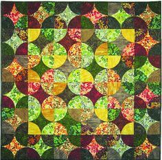 FREE pattern: Nature Collection Leaves (from Robert Kaufman Fabric)