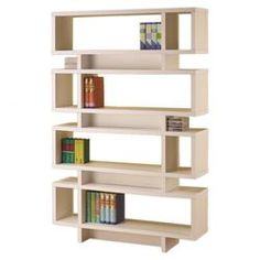 Dalton Bookcase in White