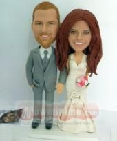 Custom Cake Toppers Figurines - custom cake toppers personalized make from your own photos, top level custom cake toppers for wedding, anniversary and any occasions. Custom Wedding Cake Toppers, Wedding Cakes, Wedding Stuff, Wedding Ideas, Anniversary, Creative, Polymer Clay, Cold Porcelain, Wedding Gown Cakes