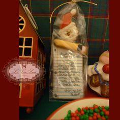 Bolachas personalizadas para o Natal! Por Giselle Minella! KIT CARTA DO PAPAI NOEL. Sabores sugeridos: Baunilha, chocolate, ovomaltine, canela, nozes e morango. Encomende pelo blog: www.lelieusucre.c.