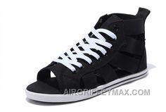 3030b8a4afc7 Chucks · Discount CONVERSE Open Toe Black Elastic Band Summer All Star  Roman Sandals