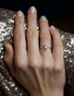 Princess Diamond Ring Princess Cut Engagement Ring by MinimalVS