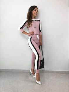 Sport Fashion, Look Fashion, Womens Fashion, Fashion Design, Sporty Outfits, Trendy Outfits, Cute Outfits, Mode Hijab, Suits For Women