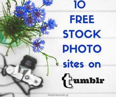 10 sites με ΔΩΡΕΑΝ και ΕΛΕΥΘΕΡΕΣ φωτογραφίες για το blog σου στο tumblr by Despinas Studio