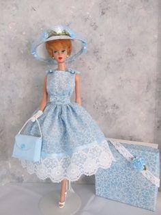"Vintage Barbie/Silkstone ""Frosted Lace"" OOAK Handmade by Ann"