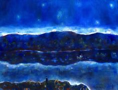 Sparre, Victor (1919-2008) Night with Stars