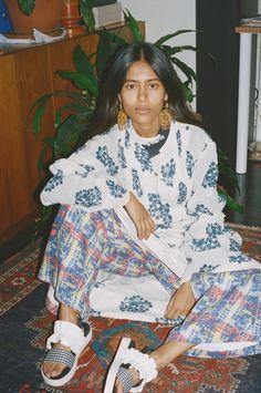 "lamignonette: "" Arpana Rayamajhi for Fader Magazine - Divine Power """