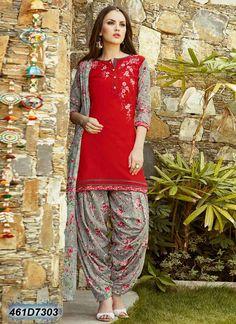 Shop readymade maroon cotton cambric patiala suit , freeshipping all over the world , Item code Patiala Dress, Patiala Salwar Suits, Punjabi Suits, Churidar, Pakistani Dress Design, Pakistani Outfits, Indian Outfits, Patiala Suit Designs, Salwar Designs