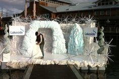 Ice Cave Entranceway (S) | Narnia Theme | Event Prop Hire