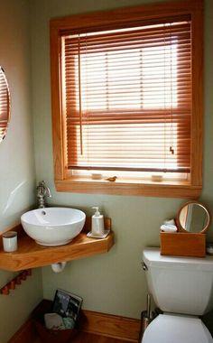 16 ideas para decorar tu baño de visita pequeño | baños ... - Decoracion Bano De Visitas Pequeno