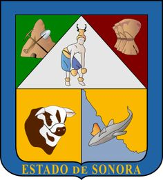 Coat of arms of Sonora - Mexico