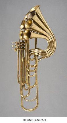 Trompette à pistons, Adolphe Sax