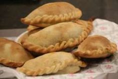 Recipe Print Authentic Beef Empanadas with Homemade Empanada Pastry recipe - All recipes Australia NZ Beef Recipes, Mexican Food Recipes, Cooking Recipes, Bolivian Food, Beef Empanadas, Salty Foods, Latin Food, Pastry Recipes, Cookies Et Biscuits
