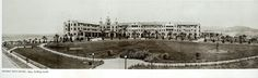 Beverly Hills Hotel, looking north. 1914 photo.