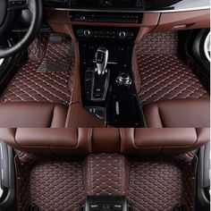 AA Custom Special Floor Mats For Ford Kuga/Escape Waterproof Carpets For Kuga/Escape Carmat