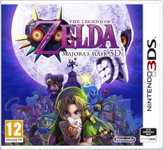 Tentative European The Legend of Zelda: Majora's Mask 3D box art, 3DS CAN'T WAIT!!!