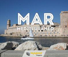 Vale a pena conhecer a cidade de Marselha, às margens do Mar Mediterrâneo.  http://scup.it/608b